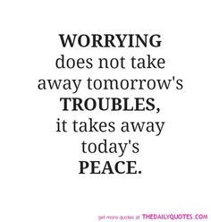 Worrying..........