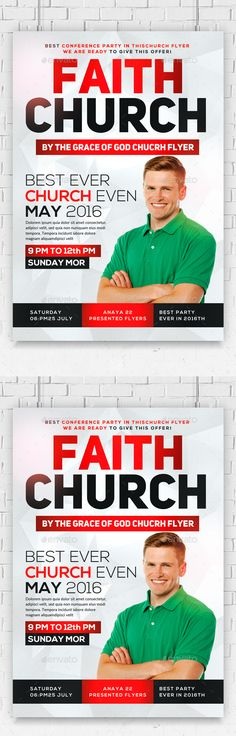 Shout Church Flyer Psd Templates Churches And Template