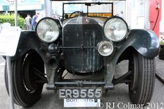 1928 Mercedes Benz 36/220, Brooklands Double Twelve.