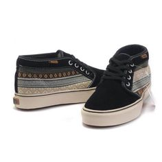 Men's Tribal Print Vans