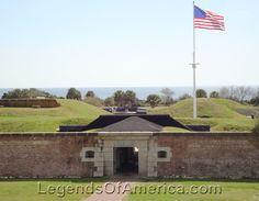 Fort Moultrie, SC. Fort Moutrie, South Carolina by the National Park Service.