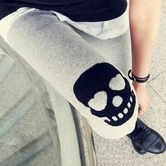 I just discovered this while shopping on Poshmark: ️NWT Skull Leggings. Check it out!  Size: OS