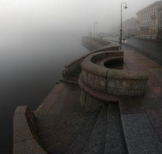 Когда над Невой исчезают мосты. #санкт-петербург Автор: Александр Нагибин