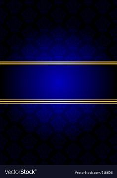 Blue and gold background Royalty Free Vector Image , Luxury Background, Studio Background Images, Gold Background, Blank Wallpaper, Blue Wallpaper Iphone, Free Vector Art, Free Vector Images, Happy New Year Background