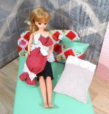 カズミンブログ ドール用ベッド&ソファー