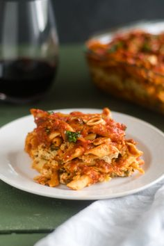This Vegan Baked Pasta with Tofu Ricotta is perfect if you are looking for an easy, budget-friendly meal that is also delicious! Baked Pasta Recipes, Raw Food Recipes, Veggie Recipes, Vegetarian Recipes, Cooking Recipes, Healthy Recipes, Tofu Dishes, Pasta Dishes, Casserole Dishes