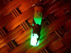 Moulin Rouge Glow In The Dark Brass Fairy Bottle Necklace