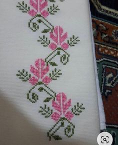 123 Cross Stitch, Cross Stitch Bookmarks, Cross Stitch Borders, Cross Stitch Flowers, Cross Stitch Designs, Cross Stitching, Cross Stitch Patterns, Embroidery Flowers Pattern, Hand Embroidery Designs