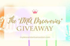 Enter by July 31, 2017 to win 3 great prizes to enhance your knowledge of genetic genealogy!    This & more #genealogy #contests on our website conferencekeeper.org/genealogy-contests