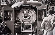 Emergency Iron Lung Ambulance, Circa 1937