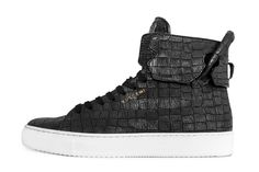 En-Noir x Buscemi x 125mm High Top Sneaker | MR.GOODLIFE. - The Online Magazine for the Goodlife.