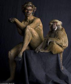 animal body painting