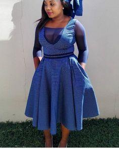 Best 10+ Lesotho Shweshwe Traditional Dresses #AfricanAttires