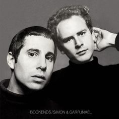 Bookends by Simon & Garfunkel (1968) | Community Post: 42 Classic Black And White Album Covers