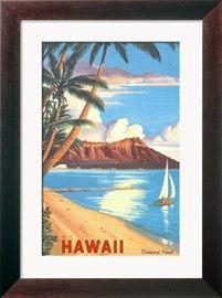 Diamond Head, Hawaii Posters bij AllPosters.nl