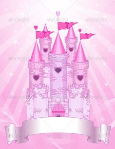 Pink Castle place card #GraphicRiver Fairy Tale princess pink castle on radial background with place for your text Created: 19June12 GraphicsFilesIncluded: JPGImage #VectorEPS Layered: No MinimumAdobeCSVersion: CS Tags: background #cartoon #castle #clipart #clip-art #congratulation #copy #cute #dreams #fairytale #fantasy #femininity #flag #illustrationandpainting #imagination #invitation #kingdom #palace #pink #place #princess #radial #sign #star #text #tower #vector