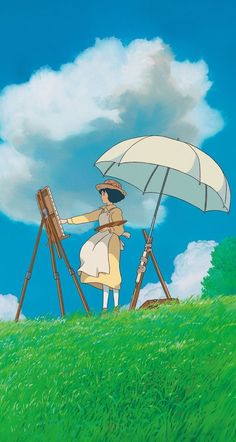 Studio Ghibli's The Wind Rises Totoro, Studio Ghibli Art, Studio Ghibli Movies, Studio Ghibli Poster, Animes Wallpapers, Cute Wallpapers, Phone Wallpapers, Aesthetic Backgrounds, Aesthetic Wallpapers