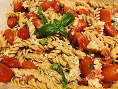 Pâtes feta et tomates - Recettes de famille