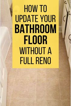 Makeover your bathroom for cheap with these creative diy bathroom flooring ideas. Check out the before and after photos for bathroom ideas and inspiration to update your bathroom floor without a full renovation or remodel. Vinyl Sheet Flooring, Diy Flooring, Flooring Ideas, Bathroom Flooring, Luxury Homes Interior, Home Interior Design, Interior Livingroom, Interior Modern, Hexagon Mosaic Tile