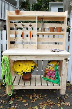 Brooklyn Limestone: Potting Bench / Outdoor Bar : Buy or Build?