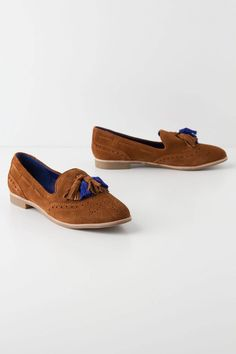 Two-Tone Tasseled Loafers - Anthropologie.com