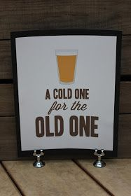 We recently celebrated my brother-in-law's 40th birthday. He is an avid home brewer and loves his beer so the theme naturally became abo...