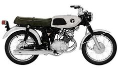 honda cb cg 125 with the gas tank of a ss50 and cafe racer. Black Bedroom Furniture Sets. Home Design Ideas
