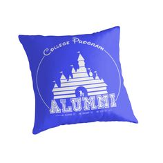 Proudly display your graduation from the Disney College Program with this shirt/phone case dedicated to cast member alumni! Shown here in white, the design pairs well with many colors – wear it in blue for the classic Disney castle logo look! / Still earning your ears? Check out my current cast member design here: http://www.redbubble.com/people/tabcatalm/works/11754585-earning-my-ears?c=278823-disney-college-program • Also buy this artwo...