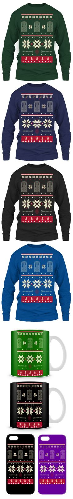 Dr. Who Ugly Christmas Sweater! Click The Image To Buy It Now or Tag Someone You Want To Buy This For.