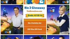 Things I Learned at The Rio 2 World Premiere Rio 2 Movie, Movie Tv, Andy Garcia, Visa Gift Card, Summer 2014, Disney Movies, Life Is Good, Tv Shows, Packing