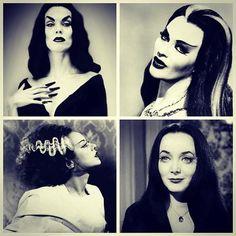Vintage horror vixens
