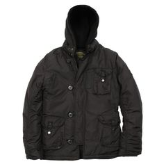 Alpha Industries Men's Cobbs II Nylon Parka, Black, Small New age style parka with military inspired details. Three patch pockets with button closure, and canvas strips running down sleeve seams for added tear-strength. Fleece hood liner zips in to protect against colder temperatures while the 4-button collar and storm flap help block out the wind. 100 percentage texturized Nylon outer shell with ... #AlphaIndustries #Apparel