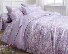 leChouchou.com - décoration - Linge de lit fleurs poudrées