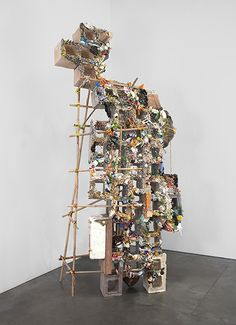 Beginning Sculpture: Elliott Hundley (assemblage inspiration)