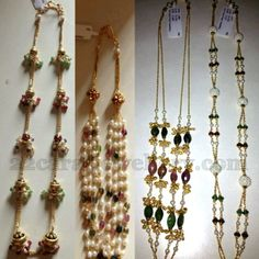 Jewellery Designs: 10 Grams Beads Small Sets