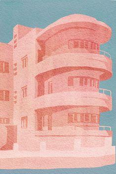 Bauhaus Colors, Bauhaus Art, Bauhaus Design, Cover Design, E Design, Graphic Design, Architecture Visualization, Art And Architecture, Victorian Architecture