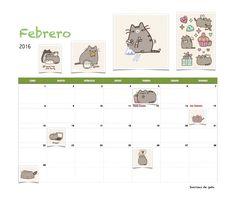 ∑:) Gratis calendario Sonrisas de gato Febrero 2016