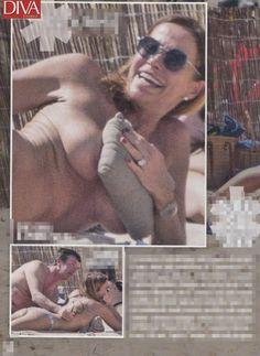 La giornalista Cristina Parodi a Formentera inaugura il primo topless dell'anno 2018 è la Parodi che è stata paparazzata dal giornale Diva e Donna dove la donna sta trascorrendo dei giorni di vacanza con il marito Giorgio Gori e i figli Alessandro ed Angelica.
