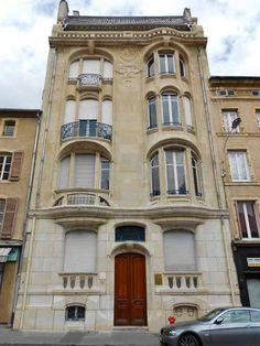Ville de Nancy - Imeuble Charles Margo architecte Eugène Vallin  Proposé par Gilles Boncourt