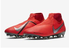 a50a5cb71c Nike PhantomVSN Elite Dynamic Fit FG - Bright Crimson   University Red    Gym Red