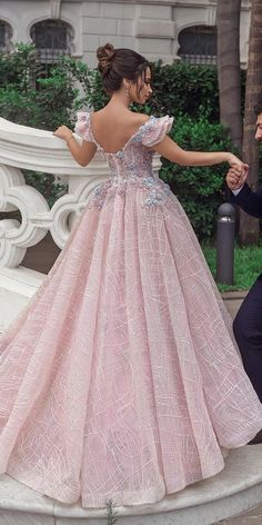 30 Fall Wedding Dresses With Charm ❤  fall wedding dresses a line low back with cap sleeves lace ahmadyounesphotography #weddingforward #wedding #bride Ball Gowns, Formal Dresses, Fashion, Ballroom Gowns, Dresses For Formal, Moda, Clearance Prom Dresses, Formal Gowns, Fashion Styles
