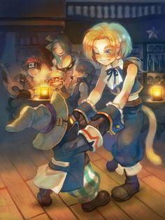 Vivi and Zidane - Final Fantasy IX