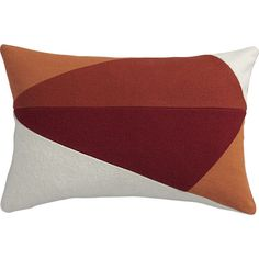 CB2's Sunny Acres pillow is perfect for every season..