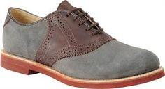 grey suede saddle shoes!