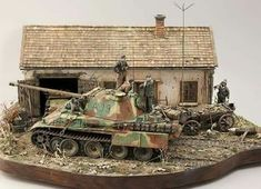 Panther Panzer, Auto Union 1000, Wiking Autos, Vw Bus, Scale Art, Model Tanks, Ardennes, Military Modelling, Army Vehicles