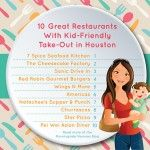 10 Great Restaurants With Kid-Friendly Take-Out in Houston