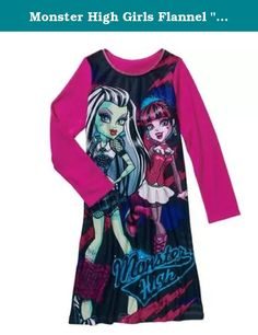 4fff9552ff Monster High Girls  License Pajama Sleep Gown