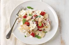Pasta, chicken and the flavors of classic bruschetta come together in a dish that#39;s highly likely to end up on your family#39;s favorites list.