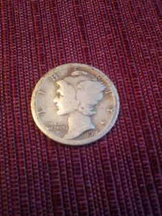 1916s mercury dime semikey date nice by DrewsCollectibles on Etsy, $8.00 #coins #etsy #dime