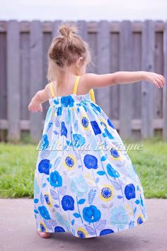 Hattie's Maxi Dress for Girls by BellaPhiaBoutique on Etsy https://www.etsy.com/listing/226972272/hatties-maxi-dress-for-girls